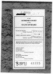 State v Moses Clerk's Record v. 2 Dckt. 38871