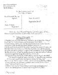 Brummett v. State Appellant's Brief 1 Dckt. 41127