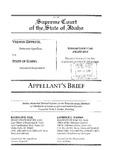 Zipprich v. State Appellant's Brief Dckt. 41250