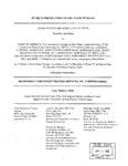Watson v. Bank of America Respondent's Brief 1 Dckt. 43668