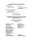 State v. Sciandra Respondent's Brief Dckt. 43982