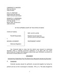 State v. Schwindt Respondent's Brief Dckt. 44187