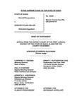 State v. Miller Respondent's Brief Dckt. 44200