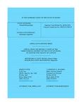 State v. Stewart Appellant's Brief Dckt. 44338
