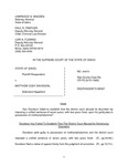 State v. Davidson Respondent's Brief Dckt. 44410