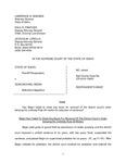 State v. Begin Respondent's Brief Dckt. 44449