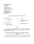State v. Cooney Respondent's Brief Dckt. 44547