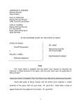 State v. Hazel Respondent's Brief Dckt. 44665